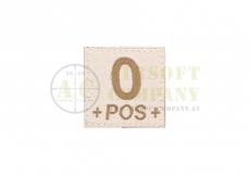 0 Pos Bloodgroup Patch Desert