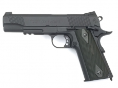 Colt M1911 blackened Full Metal Co2, KWC