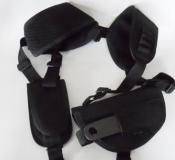 Schulterholster für Pistolen, schwarz