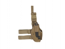 Thigh Holster (M92, G17/18), tan
