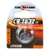 CR1632 Ansmann Lithium- Knopfzelle, 3 Volt