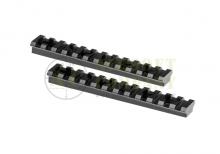 AR-15 Handguard OPicatinny Rails 2pcs Leapers