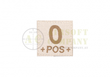 0 Pos Bloodgroup Patch Desert