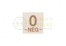 0 Neg Bloodgroup Patch Desert