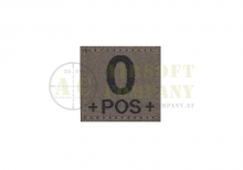 0 Pos Bloodgroup Patch Ral7013