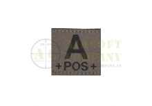 A Pos Bloodgroup Patch Ral7013