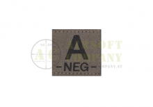 A Neg Bloodgroup Patch Ral7013