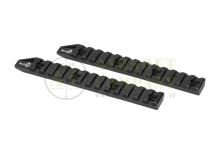 6 Inch Keymod Rail 2-Pack Black Octaarms