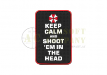 Keep Calm and Rubber Patch Color JTG