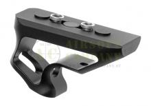 CNC Keymod Short Angled Grip black  Metal