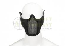 Mk.II Steel Half Face Mask Black Invader Gear
