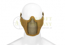 Mk.II Steel Half Face Mask Tan Invader Gear