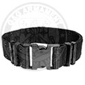 Pistol Belt black M (under 30 inches)