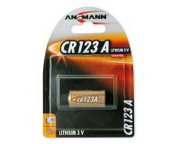 Ansmann Batterie CR123A Lithium 3V / 1450mAh