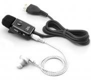 HM-153L Mikrofon mit Reversclip und Ohrhöhrer
