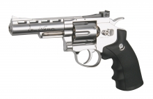 Dan Wesson 4 silver, CO2, 6mm BB