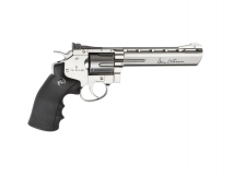 Dan Wesson 6 silber, CO2, 6mm BB