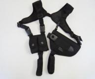 Schulterholster für Revolver, schwarz